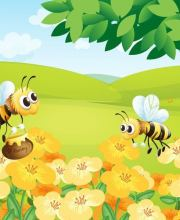Bienen-Hecke